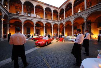 Gala Event Ferrari and Models