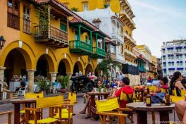 Cartagena Street Scene