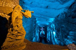 Salt Cathedral near Bogota