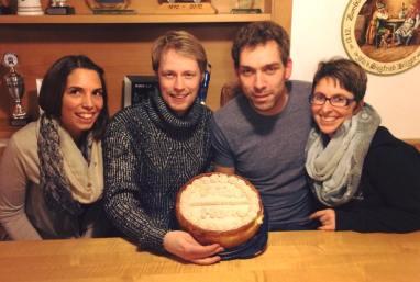Danke Ramona für Peters und Manus Geburtstagskuchen.
