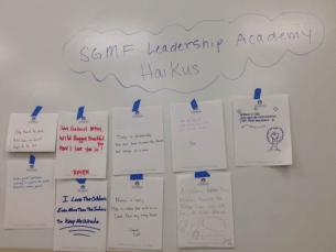 sgmf leadership haikus