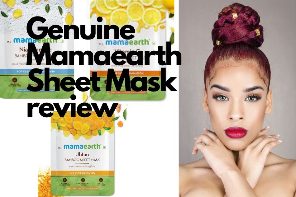 Genuine Mamaearth Sheet Mask review