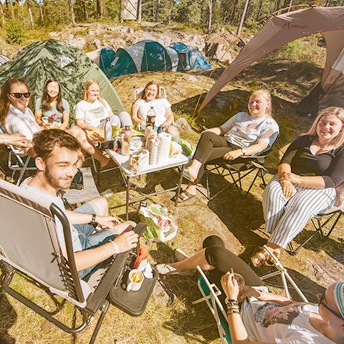 Campingregler kvadrat