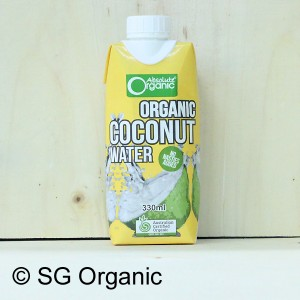 sg organic coconut water