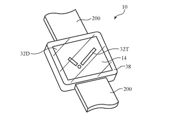 Apple Watch Touch ID kamera