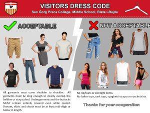 SGPC Visitors Dress Code