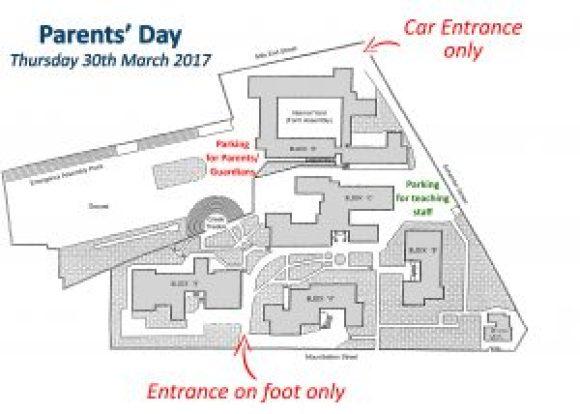 School Plan Parents Day English