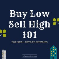 Buy Low Sell High 101 for Real Estate Newbies