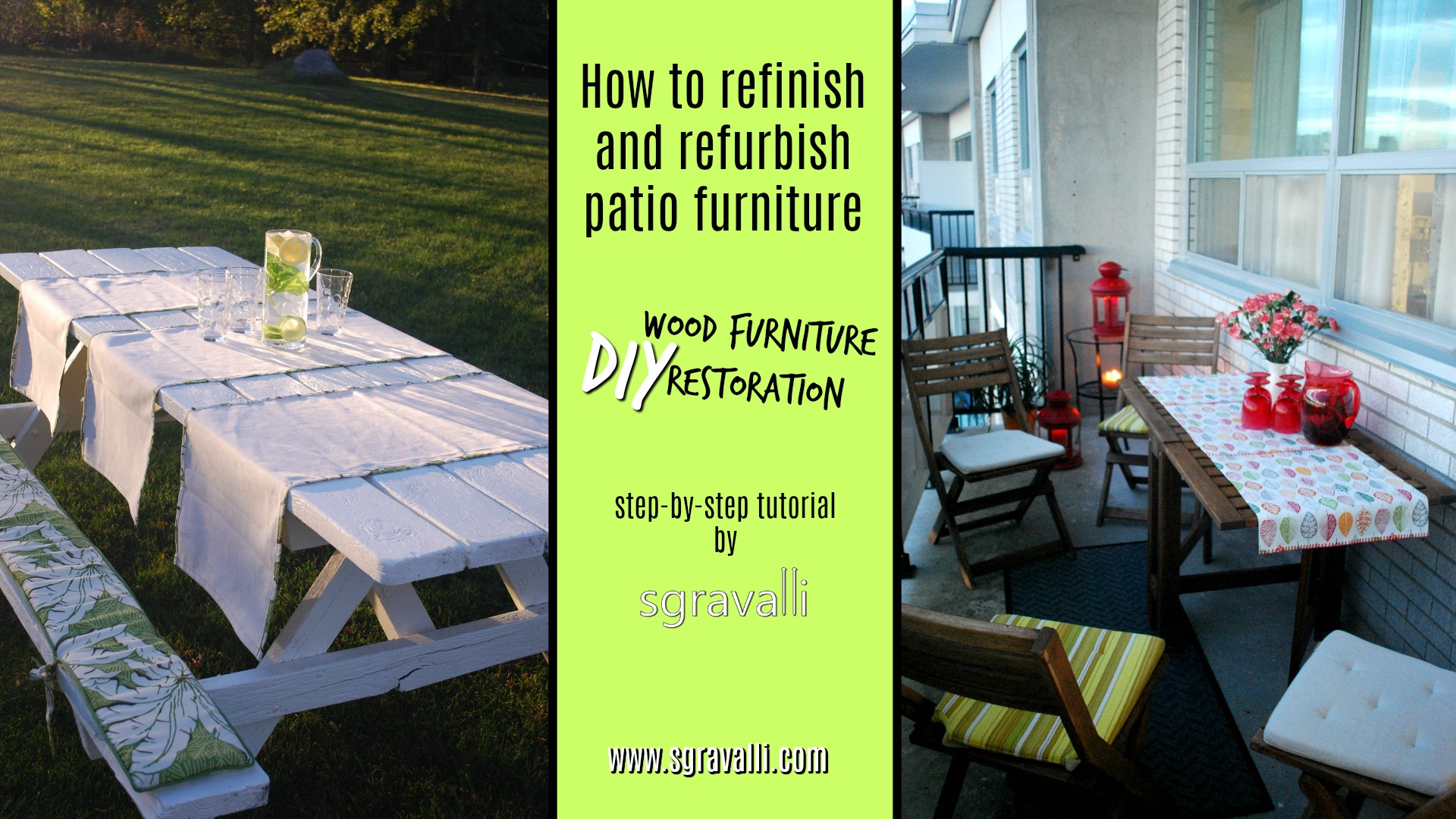 diy wood furniture restoration using