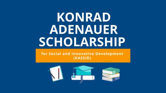 MA Scholarship opportunity from Konrad-Adenauer-Stiftung (KAS)