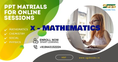 Mathematics (Class 10th) PPT Material