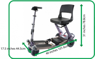 Portable and Foldable Mobility Scooter