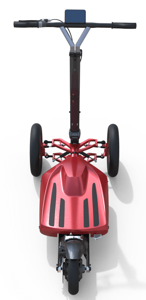 The most lightweight 3 wheel electric scooter