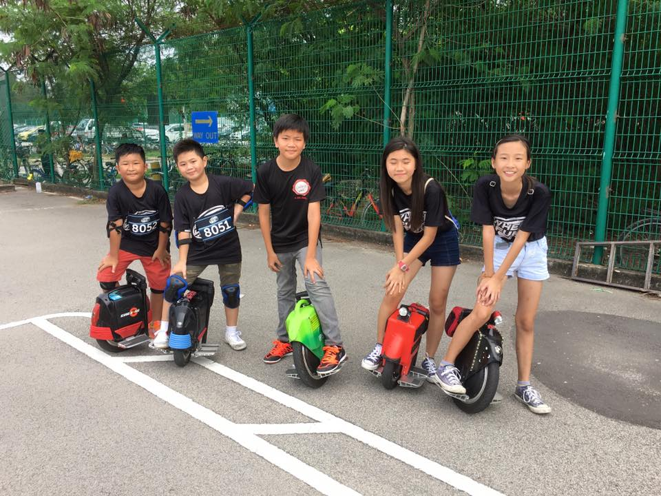 Kids of electric unicycles