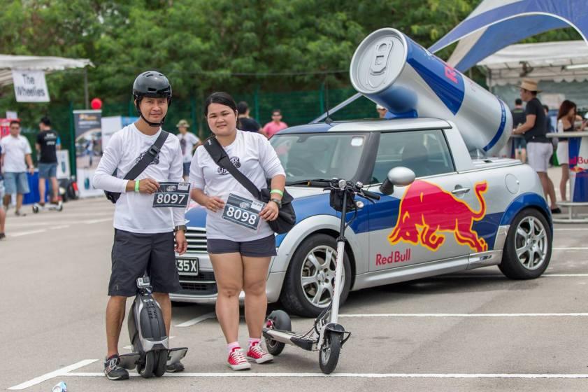 Event challenge participants