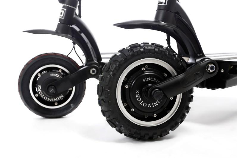 12 inch tires VS