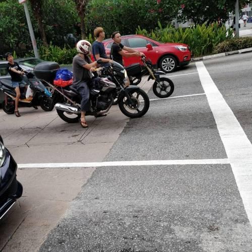 Reckless E-bike riders