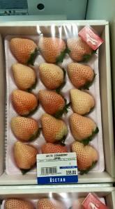 Photo : Joyce Ho, January 8, in Isetan (Japanese Supermarket)