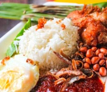 Old School Canteen Nasi Lemak Singapore