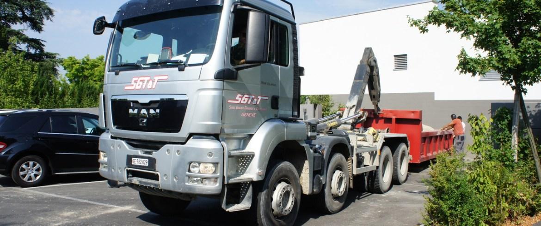 sgtt transport multilift échange benne