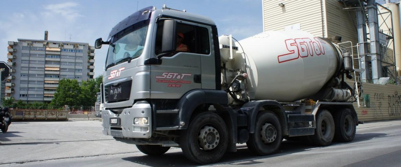 sgtt transport beton malaxeur