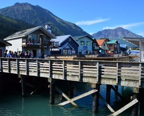 Alaska: porto di Seward