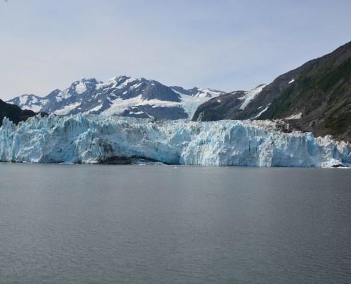 Alaska: panorama del Surprise Glacier