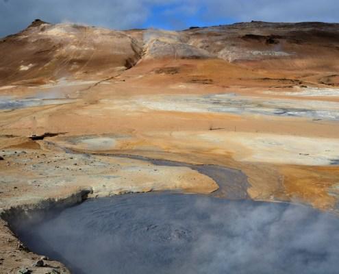 Islanda campo Hverir
