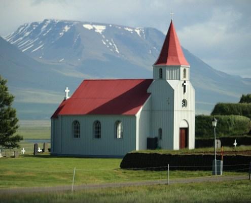 Islanda chiesa
