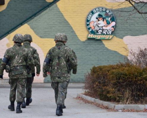 Confine tra Nord e Sud Corea: al Dora Observatory i militari si danno il cambio