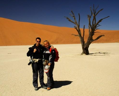 Namibia: Francy e Ricky a Deadvlei