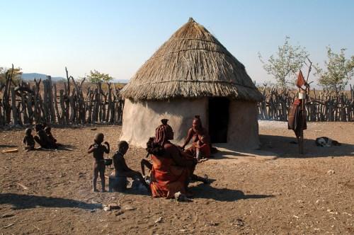 Namibia: villaggio Himba