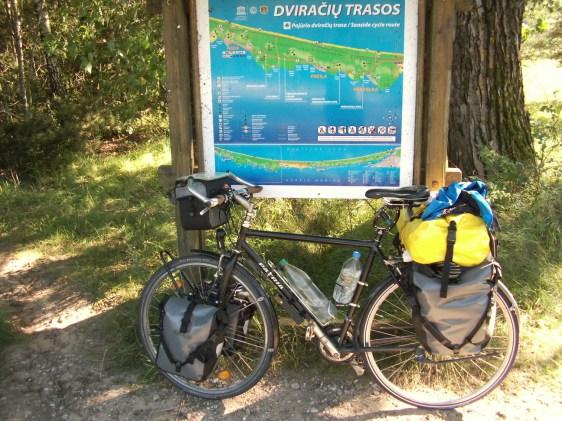 Biking Baltic states