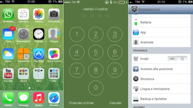 iOS Custom ROM Android
