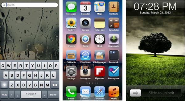 iPhone Full UI Customization