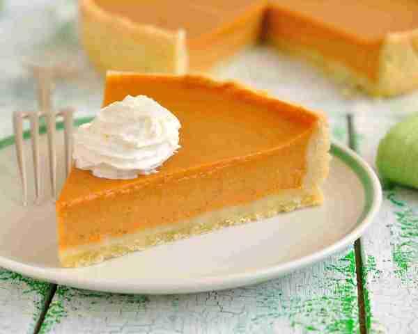 Тыквенный пирог со сгущенкой: рецепт с фото