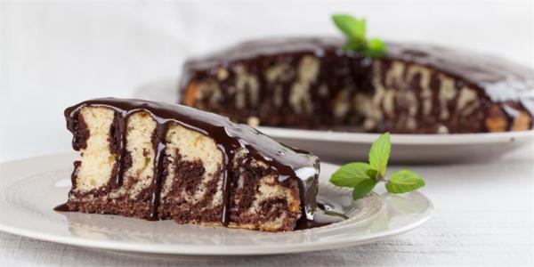 Торт Зебра: рецепт с фото пошагово в домашних условиях