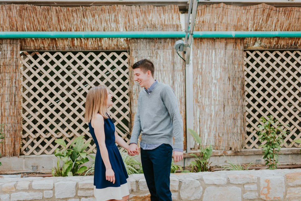 pictures of engagement in fairmount park
