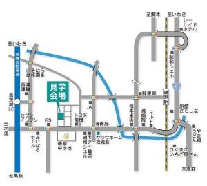 SH茨城北篠塚邸地図