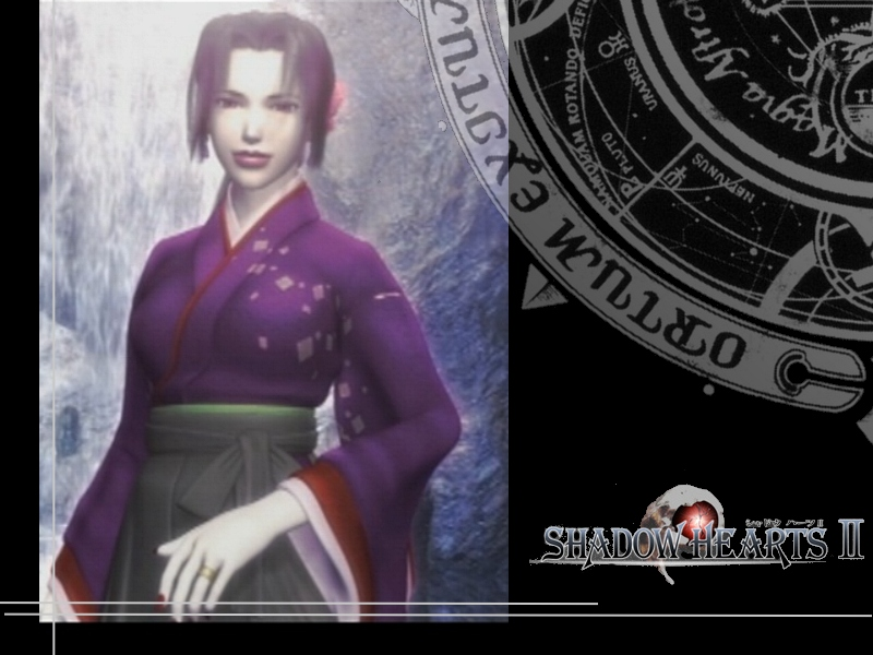 Image result for Shadow hearts Saki
