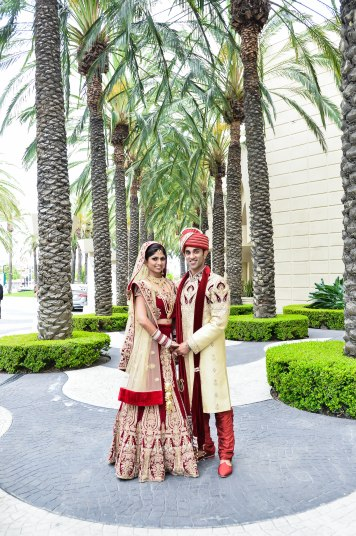 Shilpa-Utkarsh-Indian-wedding-venue-Hindu-ceremony-lehenga-sherwani-bride-groom-Hyatt-Regency-OC