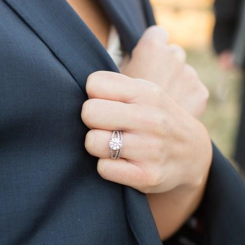 ring in coat