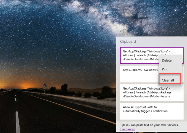 How to find and Use the Built-in Clipboard on Windows 10 (Full Guide)