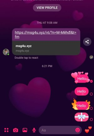 How to Add Effects to Messages on Messenger App on Android in 2021