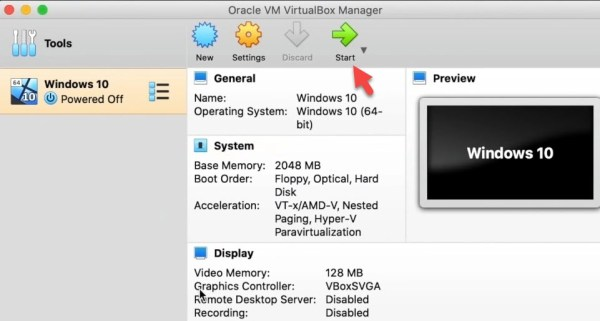 How to Install Windows 10 on VirtualBox on macOS Big Sur and Catalina