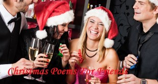 20 Best Christmas Poems For Friends