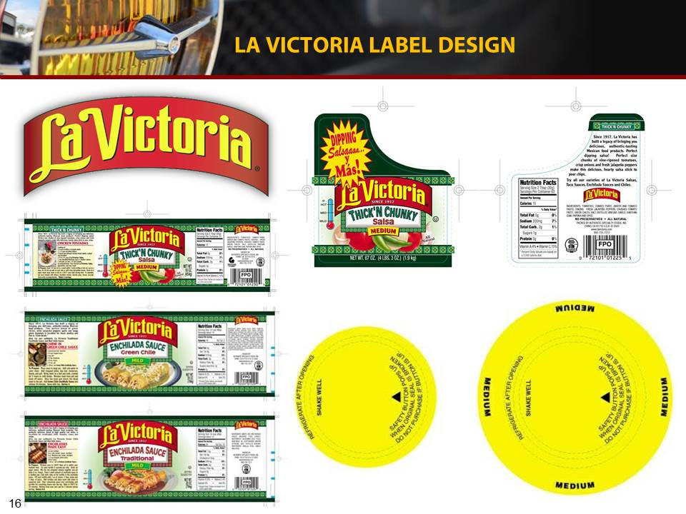 Label and packaging design, in accordance to FDA labeling guidelines