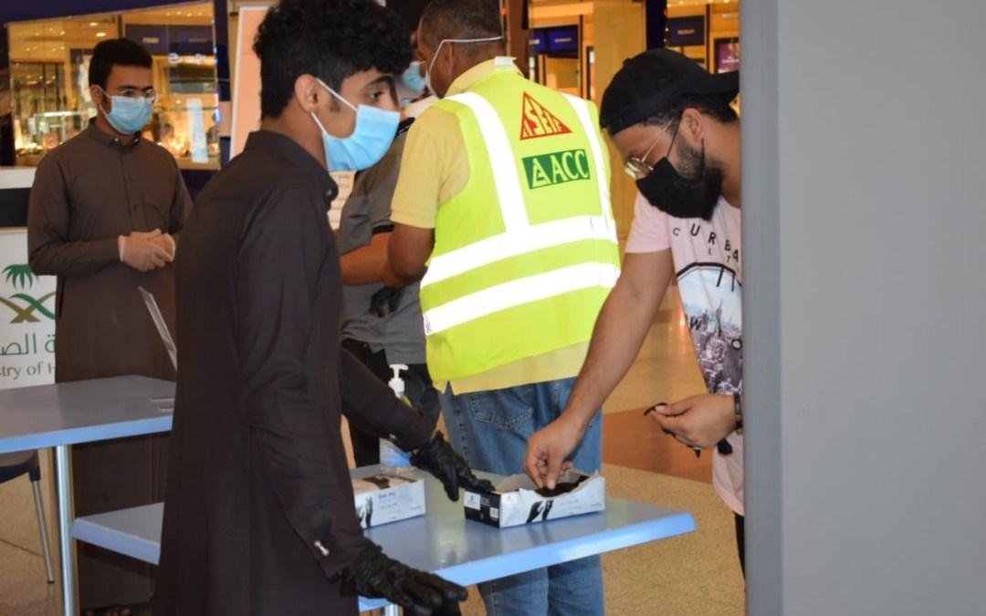 روافد جازان التطوعية  تطلق مبادرة نوعية للوقاية من فيروس #كورونا