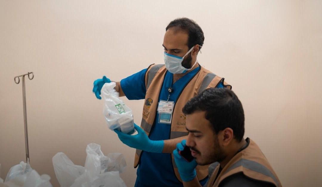 قوى أمن مكة توقع مبادرة لتوصيل الدواء للمنازل .