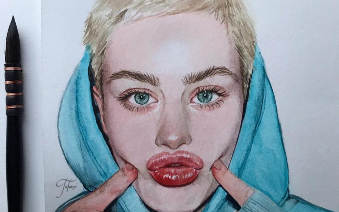 فن رسم الوجه (البورترية)